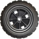Rubber-tyred wheels